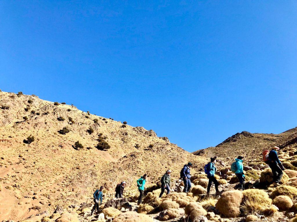 trek atlas mountains